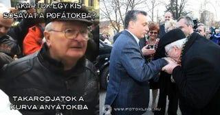 Illustration for article titled Tényleg a Savas Bácsi csókolta meg Orbán Viktor kezét?