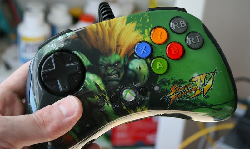 Illustration for article titled Mad Catz Street Fighter IV FightPad Review: I'm Going to Kill You So, So Bad