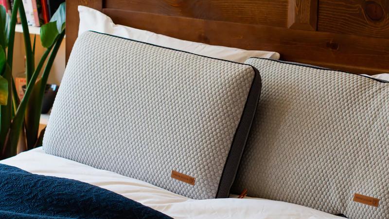 Urban Bloom Aros Charcoal Pillow | $111 | Huckberry