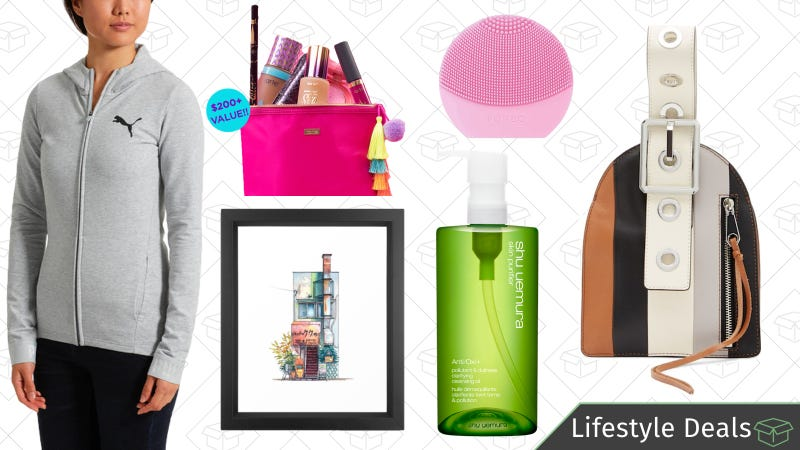 Illustration for article titled Thursday's Best Lifestyle Deals: Mother's Day Beauty Tools, Shu Uemura, PUMA, and More