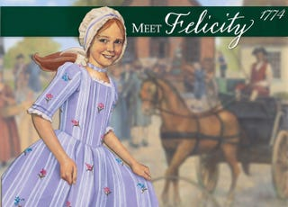 Illustration for article titled Old American Girl Dolls Are Selling for Hundreds of Dollars on eBay