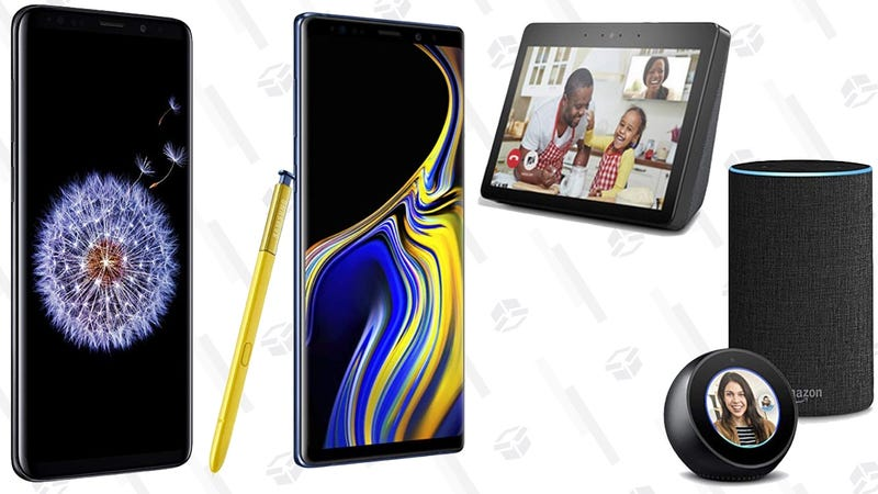 Samsung Galaxy Note9/S9+/S9 + FREE Echo Show/Echo and Echo Spot | Amazon