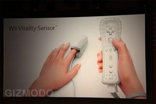 Illustration for article titled The Wii Vitality Sensor Seems...Nice