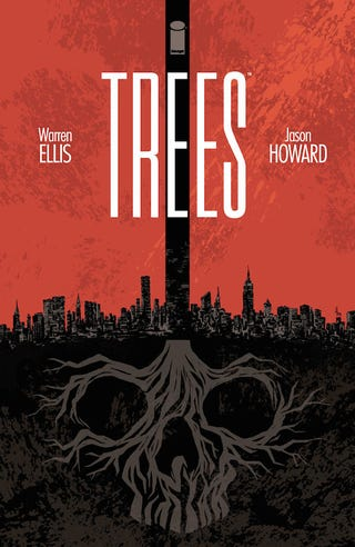 Illustration for article titled Anyone reading/going to read Trees by Warren Ellis?