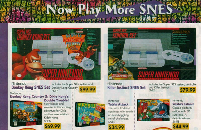 When a new game could cost 10 less than its console - How much is a super nintendo console worth ...