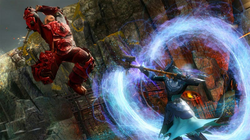 Illustration for article titled This Weekend's Guild Wars 2 Beta Event Features an Enhanced Sense of Smack