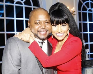 Jelani Maraj and Nicki Minaj (NIcki Minaj via Instagram)