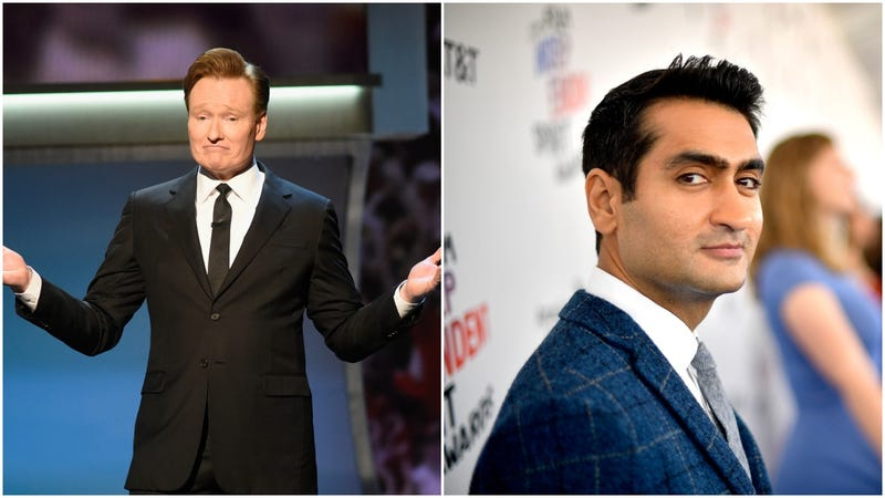 Illustration for article titled Kumail Nanjiani addresses Conan no-show on the Conan O'Brien Needs A Friend podcast