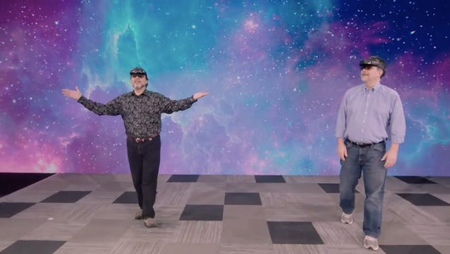Microsoft Botched Its First HoloLens Demo of Build 2019
