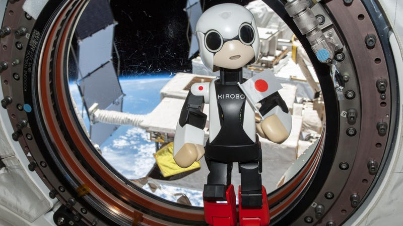 Illustration for article titled Cute Robot Sent To Keep Astronauts Company Makes First Speech In Space