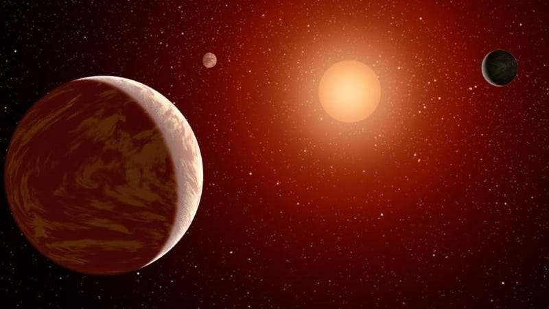 Illustration for article titled Life might not be possible around red dwarf stars