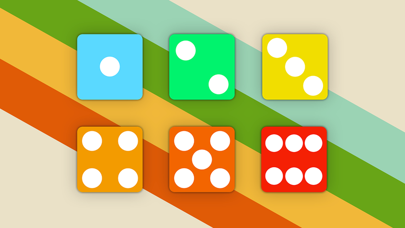 Illustration for article titled Organize and Prioritize Your Desktop With These Dice Icons