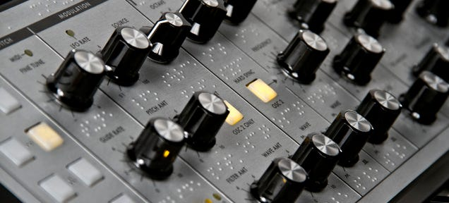 Moog Is Putting Braille On Its Synth So the Visually Impaired Can Jam