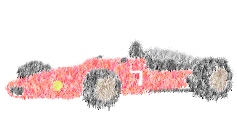 Illustration for article titled I call it Fuzzy Ferrari