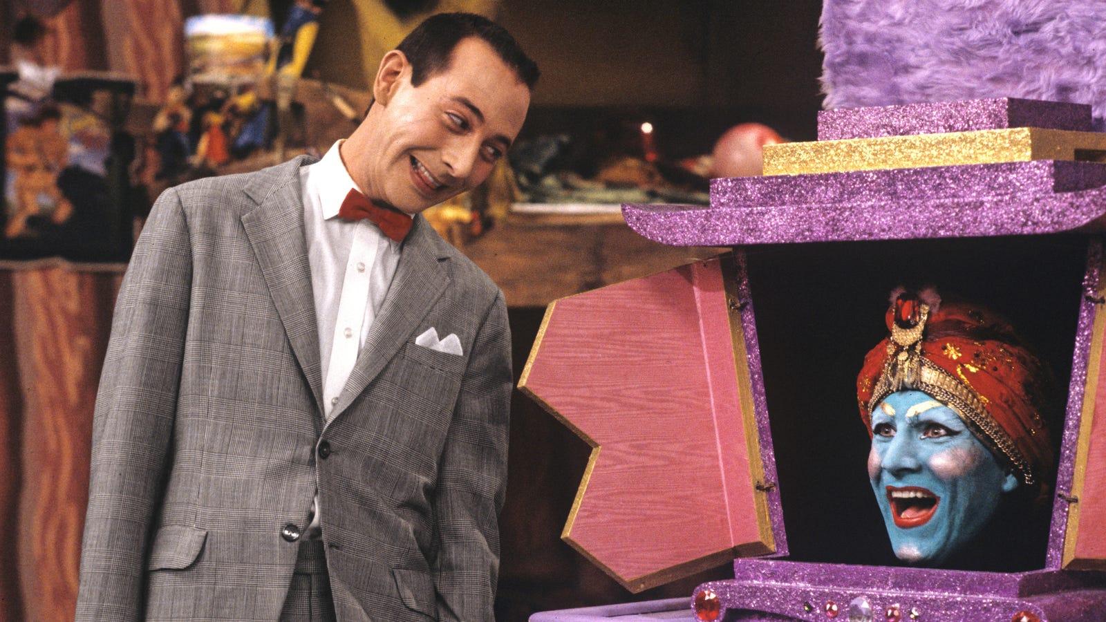 Scream real loud! Pee Wee's Playhouse is returning to TV