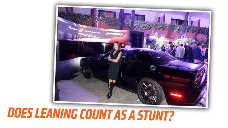 """Illustration for article titled Furious 7's""""Only Female Stunt Driver"""" Admits She Lied About Movie"""
