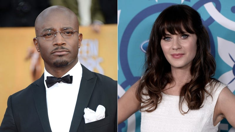 Illustration for article titled Taye Diggs Will Make Eyes at Zooey Deschanel on New Girl