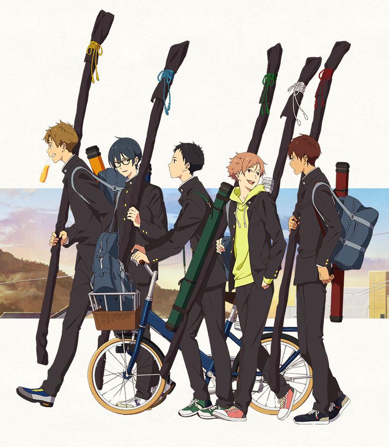 Illustration for article titled Tsurune: Kazemai High School's Archery Club gets an anime adaptation