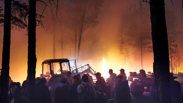 6 Photos Show Siberia's Raging Wildfire Season