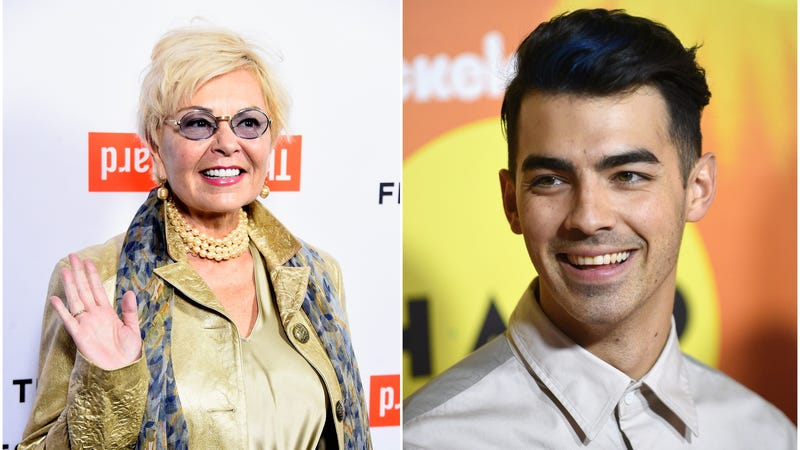 Illustration for article titled Roseanne Barr and Joe Jonas Are the Couple You Never Knew You Wanted