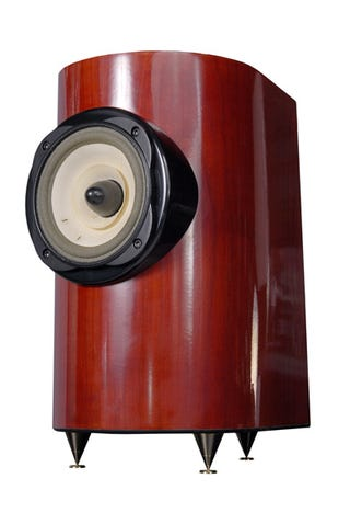 Illustration for article titled Magus Compact Speakers from Teresonic Are Curvaceous, Woody