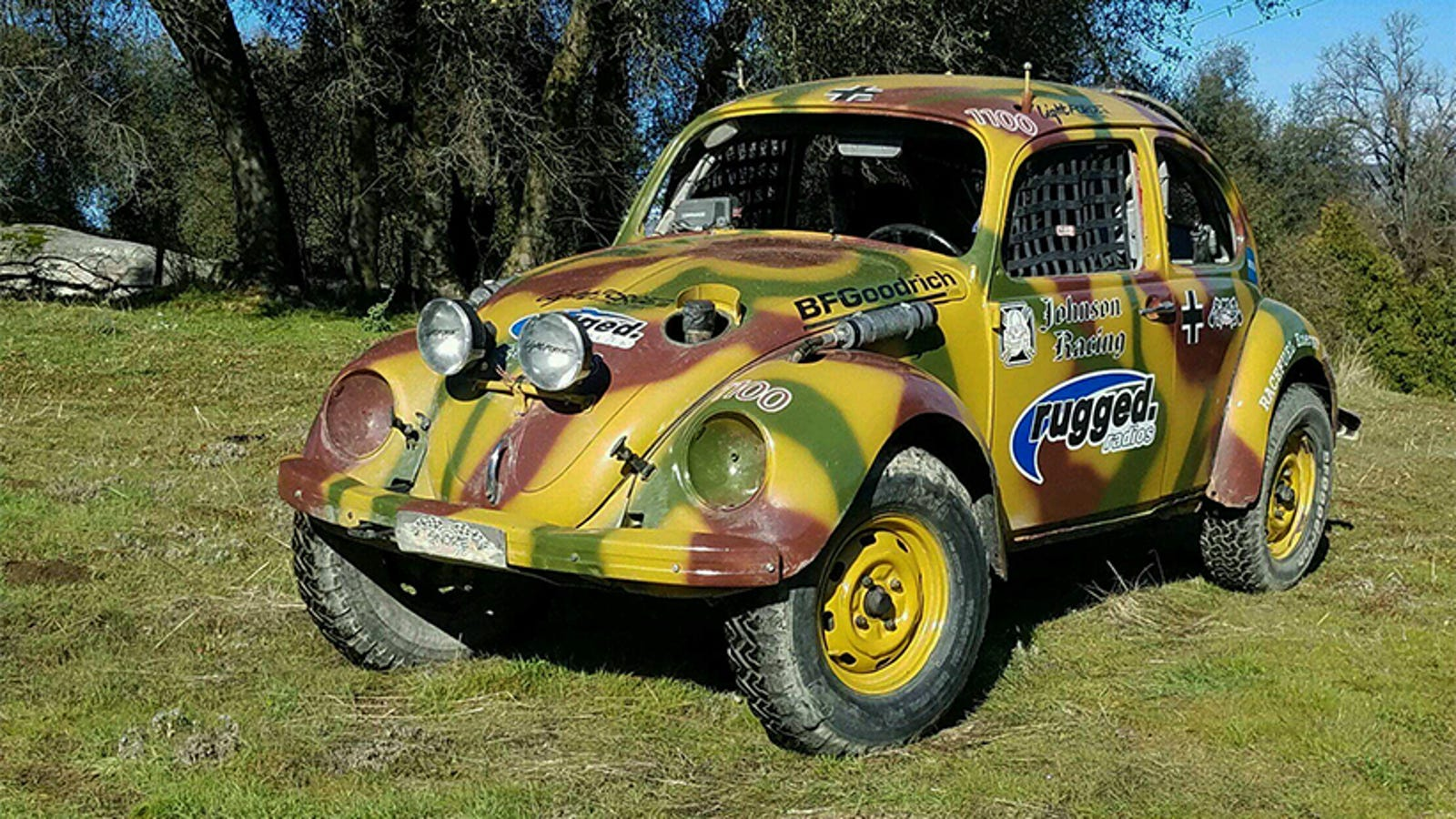 We're Finally Going To Try Off-Road Racing An Old VW Beetle In The Mint 400