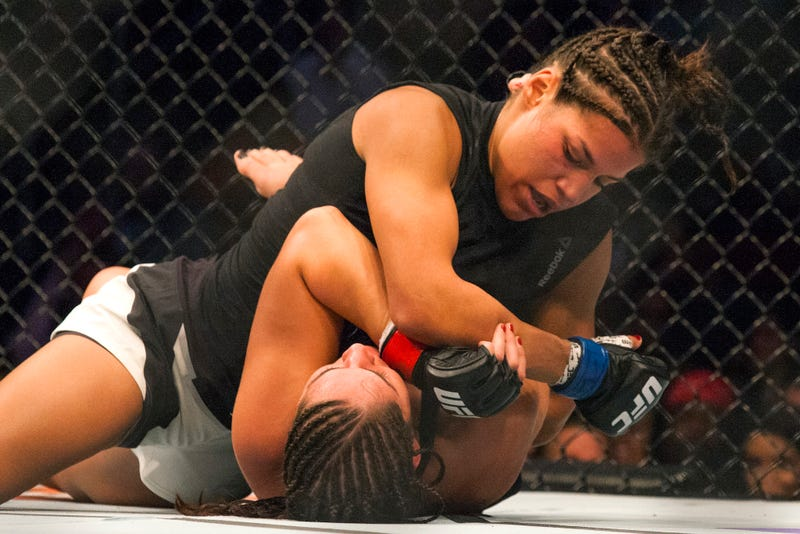 Illustration for article titled Cops: Denied The Bathroom, UFC's Julianna Pena Kicked Two Men In The Groin