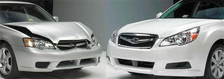Illustration for article titled 2010 Subaru Legacy Now Slightly Cheaper To Crash