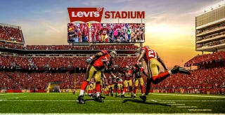 Illustration for article titled The 49ers' New Home Will Be Named Levi's Stadium
