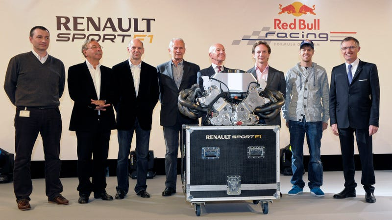 Illustration for article titled Renault Says Adieu To Their Superb V8 F1 Engine