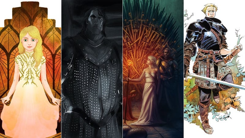 Illustration for article titled These Fan Artists Make Game Of Thrones Even More Beautiful