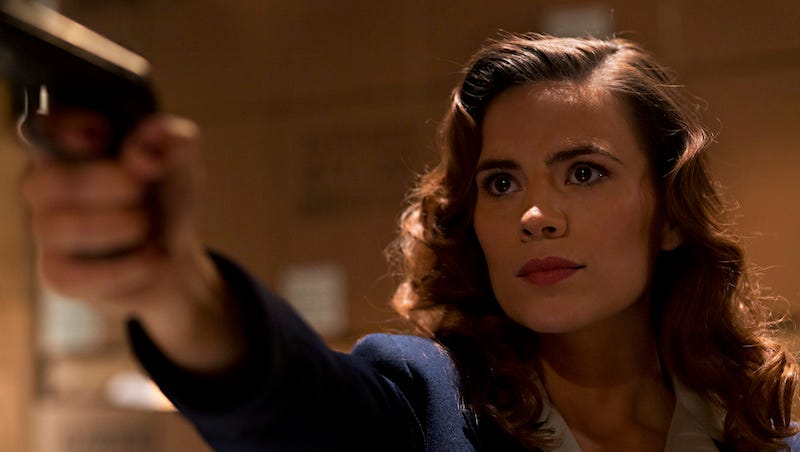Hayley Atwell Perfectly Sums Up the Creepiness of Captain America's New Love Interest