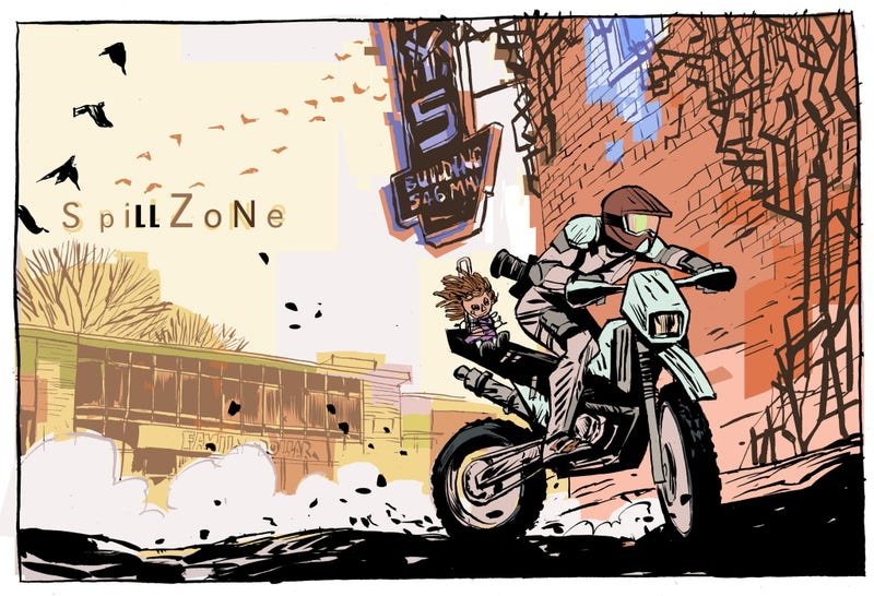 Illustration for article titled First Amazing Look At Scott Westerfeld's Post-Apocalyptic Graphic Novel
