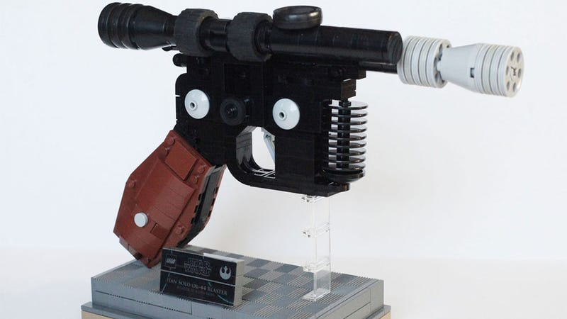 Illustration for article titled Han Couldn't Have Shot First With A LEGO Blaster