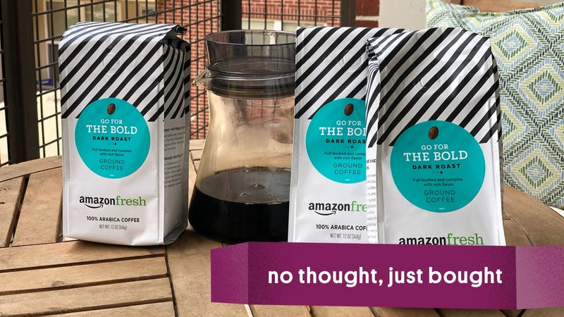 AmazonFresh Go For The Bold Coffee