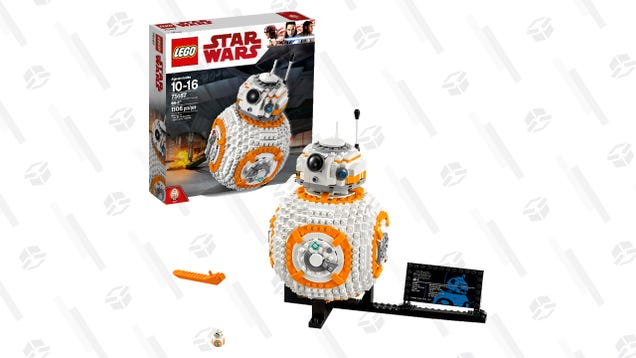 Get a LEGO BB-8 Building Set For $37 Off, But Try Not to Lose One of the 1,106 Pieces