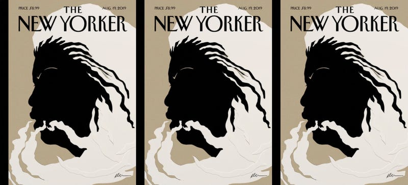 Illustration for article titled 'Quiet As It's Kept': Artist Kara Walker Creates the New Yorker's Cover Tribute to Toni Morrison