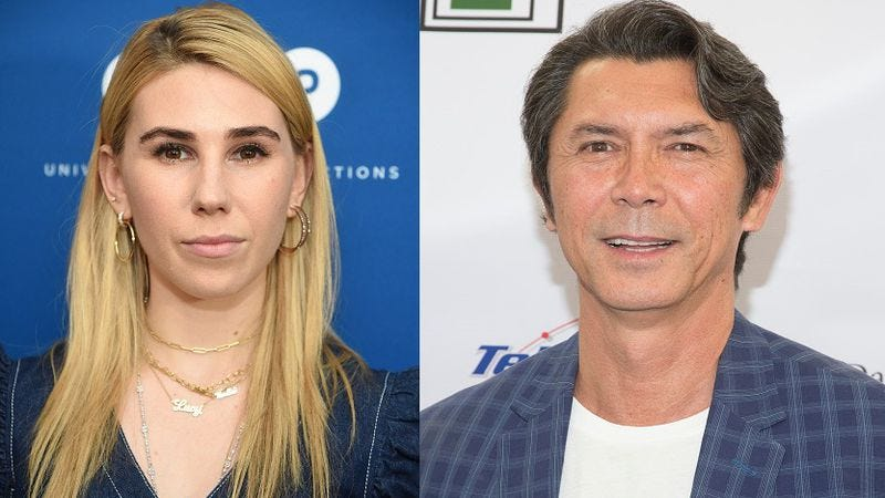 Zosia Mamet and Lou Diamond Phillips (Photos: Dimitrios Kambouris/Getty Images;  Gabriel Olsen/FilmMagic/Getty Images)