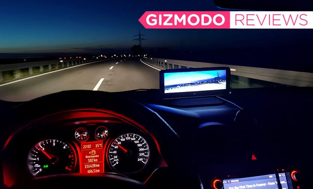 The Lanmodo Night Vision System Made Me Feel Like I Was Driving With Pricey Superpowers