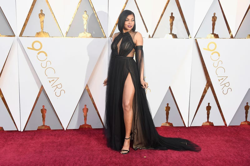 Taraji P. Henson attends the 90th annual Academy Awards on March 4, 2018, in Hollywood, Calif.