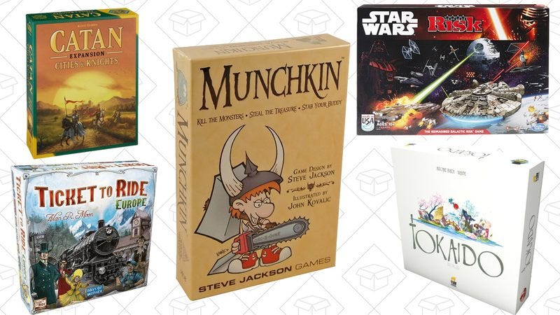 Illustration for article titled Today's best deals: Star Wars, board games, and more