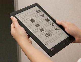 Illustration for article titled Asus DR-950 eBook Reader Gets Its Close-Up