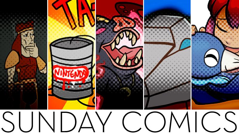 Illustration for article titled Sunday Comics: Silent Strike