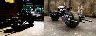 Illustration for article titled Batman's Motorcycle Revealed