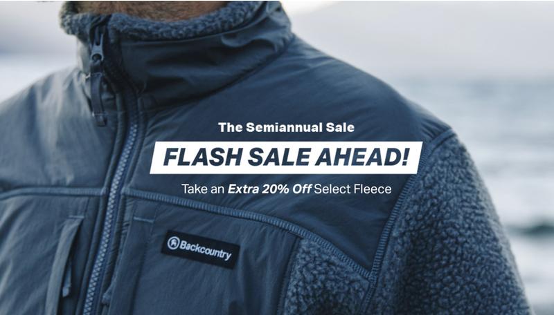 Extra 20% Off Select Fleece | Backcountry
