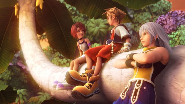Kingdom Hearts II Is Full Of Bad Romances And Rad Bromances