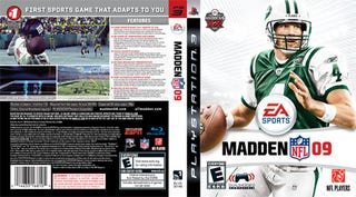 Illustration for article titled Sam's Club Prints Your New Madden Favre Cover While You Wait