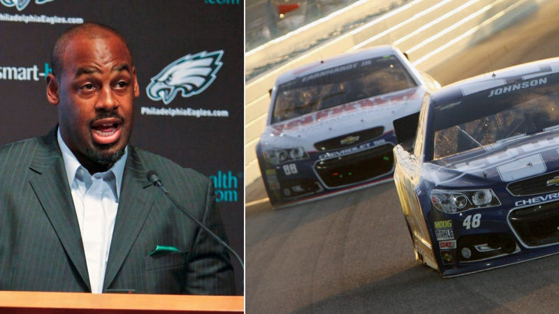 Illustration for article titled Dear Donovan McNabb: Racing Drivers Are Tougher Than Athletes
