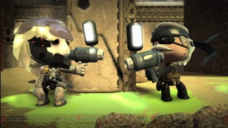 Illustration for article titled MGS4 Content Comes to Japan's LittleBigPlanet on Christmas