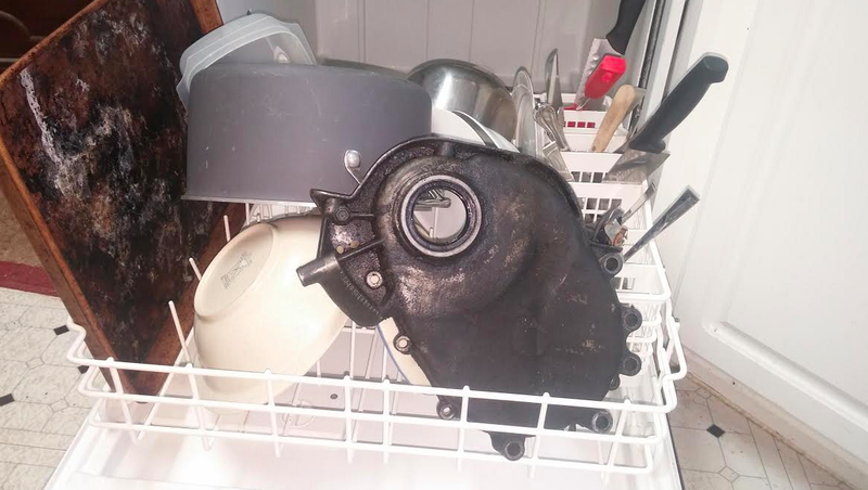 Illustration for article titled Do Not Wash Greasy Car Parts In Your Dishwasher